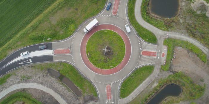 Rotonde Emmeloord - Muntweg Kuinderweg