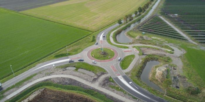 Rotonde Emmeloord Kuinderweg Muntweg