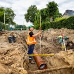 Haren riool rioolreconstructie